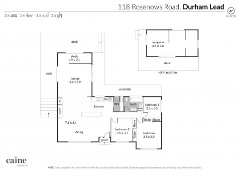 118 Rosenows Road DURHAM LEAD