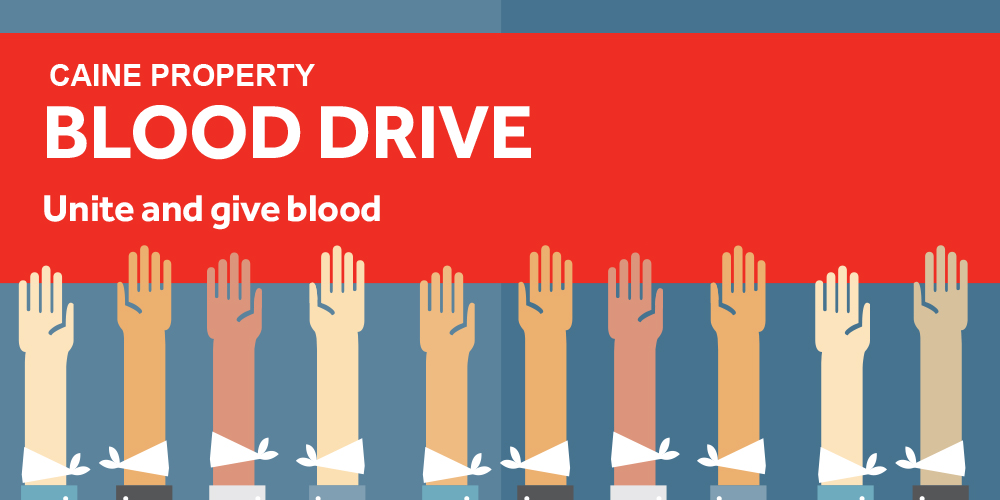 Caine Property & Red 25 Blood Drive